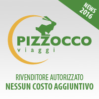 Rivenditore Autorizzato Pizzocco Viaggi — Senza costi aggiuntivi