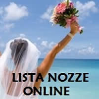 Clicca e accedi alla lista nozze online