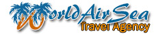 Logo World Air Sea Travel
